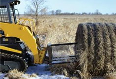 skid steer bale spear