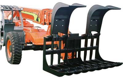 root grapple telehandler