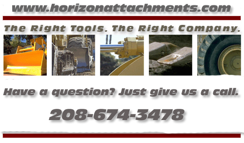 Telehandler Attachments, horizonattachments.com