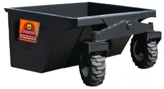 skid steer dump box