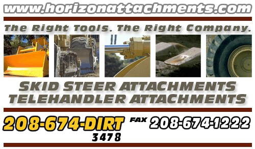 Skid Steer Attachments, Telehandler Attachments and compact loader attachments.