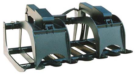 Telehandle  Ropot Grapple Bucket
