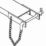 telehandler safety pin