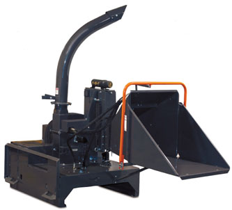 skid steer wood chipper